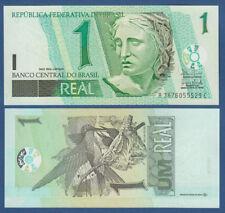BRASILIEN / BRAZIL 1 Real (2003-)  UNC  P.251