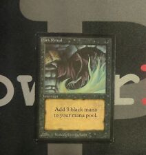 1 Dark Ritual - Beta MtG Magic Black Common old school 93/94 #0098