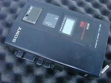 RARE */* VINTAGE SONY portable Cassette recorder TCM-38-v Flat mic  */*
