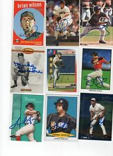 DUKE SNIDER DODGERS SIGNED 93 TED WILLIAMS CO CARD COA