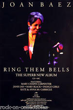 JOAN BAEZ 2007 RING THEM BELLS ORIGINAL PROMO POSTER