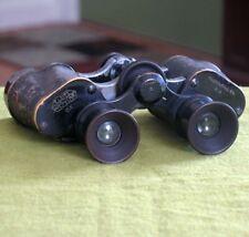 Early E Leitz 6X Pre-WWII Binoculars NY Leica Optics Wetzlar Germany FREE S/H