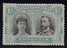 "Rhodesia, SG 152 var, MHR ""Gash in Ear"" variety"