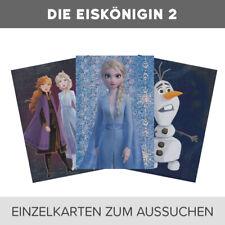 Panini Disney Frozen Die Eiskönigin 2 Trading Cards 1-198 Karten zum aussuchen