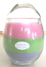 Home Interior- Creme Egg Layered Scented Candle -Nib