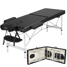 """New Professional 4"""" Pad Portable Reiki Portable Massage Table w/ 77"""" Solid Frame"""