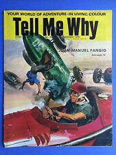 TELL ME WHY - Your World de Aventure en vie couleur - no.74 Janvier 1970
