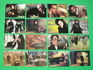 1999 Sleepy Hollow MOVIE 90 CARD SET Tim Burton! JOHNNY DEPP! INKWORKS! RICCI!
