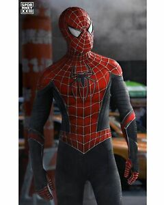 New Spider-Man Costume Far From Home Raimi Spider Hybrid Suit For Adult/Kids