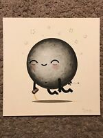 Mike Mitchell George I Drunk Moon Food Dudes Art Print Poster Mondo Mikeland