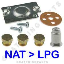 GAS CONVERSION KIT FOR PITCO FRYER 35C 35C+ NAT TO LP LPG PILOT , VALVE & BURNER