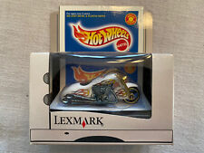Hot Wheels1999 Limited Box Lexmark Scorchin Scooter