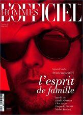 L'officiel Hommes Paris Magazine Jared Leto 1 NEW