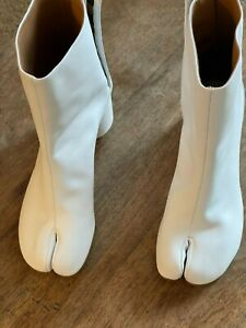 Maison Martin Margiela Tabi boots White Size It 37.5 / US 7.5