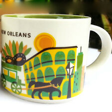 Starbucks New Orleans You Are Here Collection 2013 Mug STARBUCKS Coffee Tea 14oz