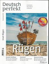 Deutsch perfekt,  August 2015.  Einfach Deutsch Lernen. RÜGEN