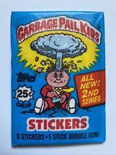1985 Topps Garbage Pail Kids Original Series 2 Unopened Wax Pack