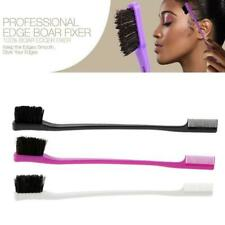Edge Control Brush Double Sided Comb Hair Gel Smooth Choose 20 Look Natural D4P3