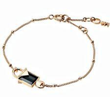Michael Kors mkc1041AM710 Bangle Bracelet 925er Silver Gold Plated Onyx New