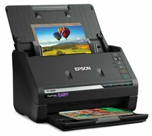 Epson Fastfoto FF-680W Wireless Photo and Document Scanning System - Black