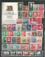 DDR  1956  gestempelt   kompletter   Jahrgang
