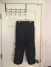 Girls Black REI Snow/Ski Pants Sz 6-7