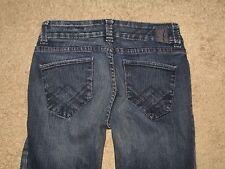!It Size 27 Dream DIVA Dark Blue Flare Stretch Denim Womens Jeans