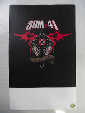 "Sum 41 * 13 Voices * 11"" x 17"" Official Promo Poster * Rare * Limited"