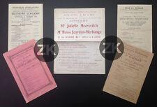 HELENE JOURDAN-MORHANGE Violoniste Ravel Debussy Concert 5 TRACTS 1906/1918