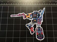 Transformers G1 Menasor box art vinyl decal sticker Decepticon 1980s stunticons