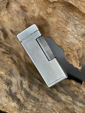 Dunhill Auto Rollalite Petrol Lighter - Silver Plated - Feuerzeug - Briquet