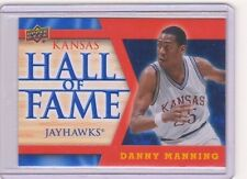 2013 Upper Deck Kansas Jayhawk Hall of Fame #HOF20 Danny Manning Mint KU SP