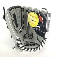 "Wilson A500 Siren 11.5""  Adult Glove Right Handed Throw Grey Graphite New"