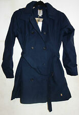 Blue Timberland Trench Coat Mac Rain Coat With Hood BNWT Size XL / UK 16