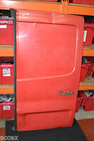 RENAULT TRAFIC SL27 1.9 dci SWB 2003 O/S/R REAR DRIVER SIDE BARE DOOR IN RED