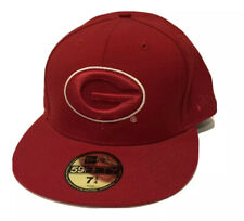 New Era 59Fifty Georgia Bulldogs  Fitted Hat Red 7 1/4 ($35) NCAA Cap SEC UGA