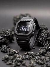 NEW G-SHOCK Men's Watch Military Black Resin Digital Watch DW5600BB-1