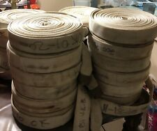 New listing Fire Hose 75 Ft 1 1/2 In Brass Couplings 250 Psi Used