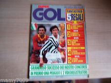 SUPERGOL=N°28 5/1986=LE FIGURINE GIGANTI DEGLI AZZURRI=ARGENTINA E BRASILE