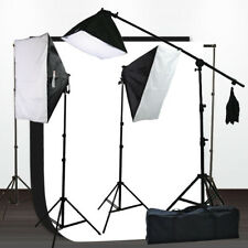 2000W Video Studio Photography Softbox Hair Light Kit