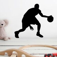 Playing Basketball Man Art Wall Sticker wall Decals Removable home Decor