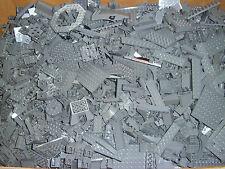 Lego 1 kg neu dunkelgrau dark bluish gray Platten, Sonderteile Paket Sammlung