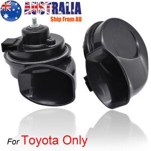 For Toyota Corolla RAV4 Camry Hilux C-HR 12V Loud High Low Tone Snail Horn AU