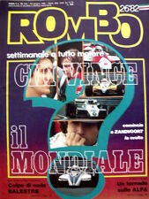 ROMBO n°26 1982 Rally Golf GTI super - Alain Prost Watson Nelson Piquet  [P26]