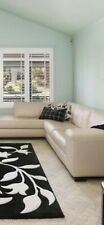 Cream leather 4 seater Freedom lounge with chaise no rips or tears