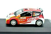 Model Car Citroen C2 Rally Scale 1/43 diecast modellcar Rallye IXO Citroën