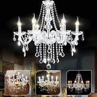 Modern ceiling lights Crystal Chandelier light shade Pendant Droplets 6 8 10 ARM