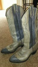 Women's Cowgirl Boots size 6.5 Texas Boots Awesome Colors