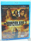 The Scorpion King 3 Battle for redemption Blu-ray Région B NEUF scellé