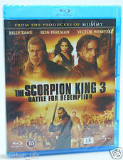 The Scorpion King 3 Battle for Redemption Blu-ray Region B BRAND NEW SEALED